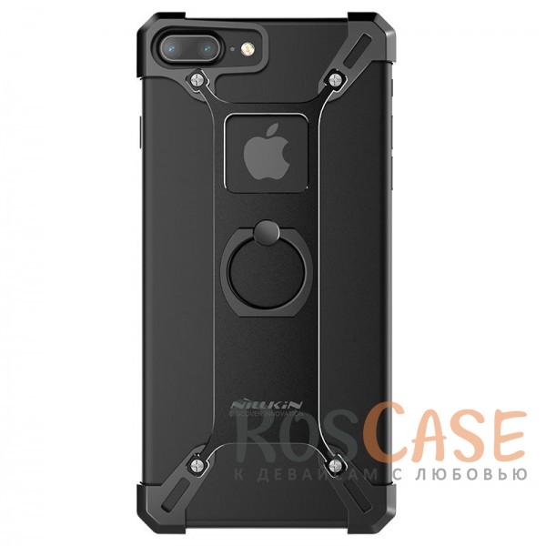 Металлический бампер Nillkin Barde series для Apple iPhone 7 plus (5.5) (Черный)<br><br>Тип: Чехол<br>Бренд: Nillkin<br>Материал: Металл