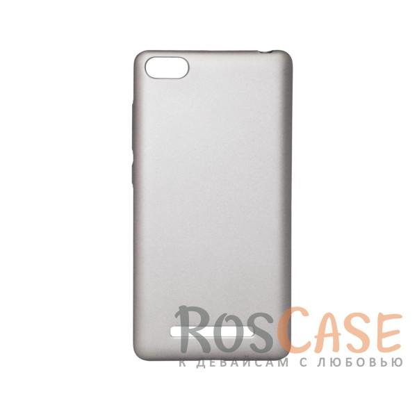 Матовая soft-touch накладка Joyroom из ударостойкого пластика с дополнительной защитой углов для Xiaomi Mi 4i / Mi 4c (Серебряный)Описание:бренд - Joyroom;совместимость - Xiaomi Mi 4i / Mi 4c;материал - пластик;тип - накладка.<br><br>Тип: Чехол<br>Бренд: Epik<br>Материал: Пластик