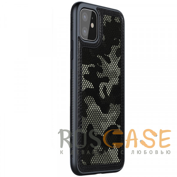 Изображение Черный Чехол Camo Case Nillkin для iPhone 11