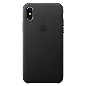 Чехол из экокожи Leather Case  для iPhone XS Max