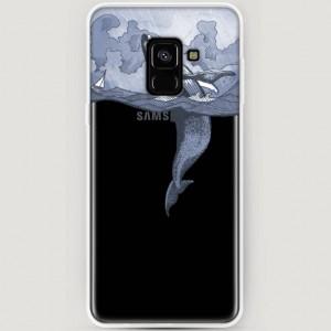 RosCase | Силиконовый чехол для Samsung A530 Galaxy A8 (2018)