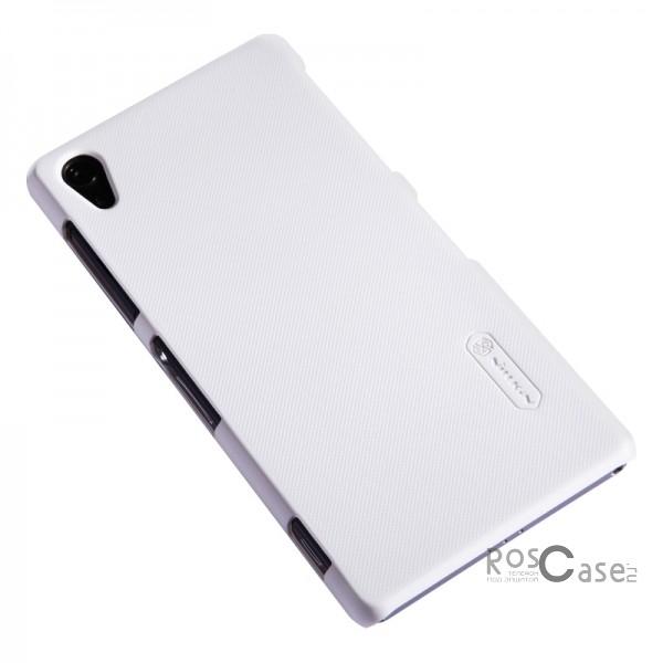 Чехол Nillkin Matte для Sony Xperia Z2 (L50) (+ пленка) (Белый)Описание:разработка и производство Nillkin;изготовлена из пластика;поверхность гладкая, матовая;конструкция-тип: накладка;совместима с Sony Xperia Z2 (L50).&amp;nbsp;Особенности:добротный классический дизайн;напыление &amp;laquo;антикислота&amp;raquo;;в комплекте поставляется защитная пленка;ультратонкая;не скользит.<br><br>Тип: Чехол<br>Бренд: Nillkin<br>Материал: Поликарбонат