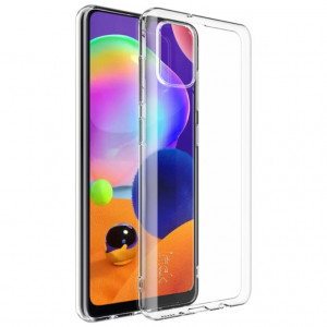 Прозрачный силиконовый чехол  для Samsung Galaxy A31