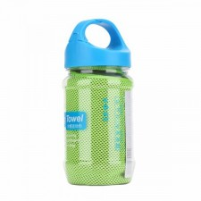 фото Зеленый / Green (Зеленый / Green цвет) Полотенце Rock (Sports Cooling Towel in a bottle)