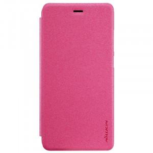 Nillkin Sparkle | Кожаный чехол-книжка для Huawei P10 Lite