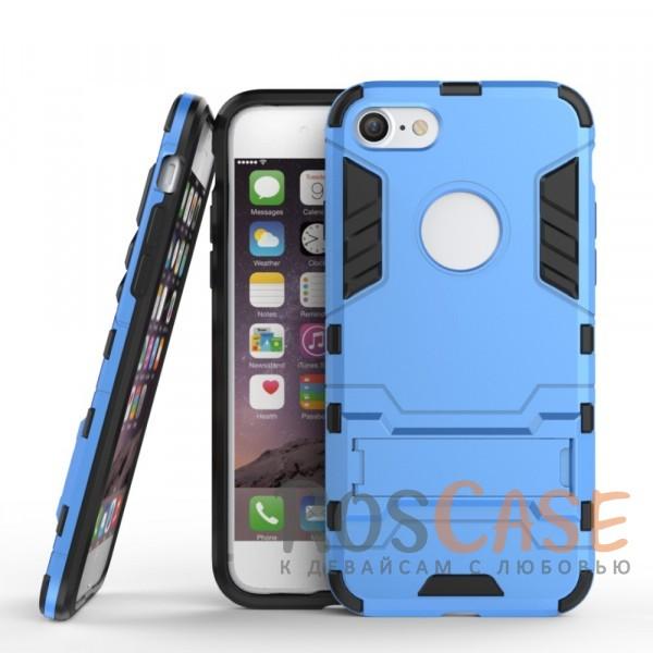Ударопрочный чехол-подставка Transformer для Apple iPhone 7 (4.7) с мощной защитой корпуса (Синий / Navy)Описание:подходит для Apple iPhone 7 (4.7);материалы: термополиуретан, поликарбонат;формат: накладка.&amp;nbsp;Особенности:функциональные вырезы;функция подставки;двойная степень защиты;защита от механических повреждений;не скользит в руках.<br><br>Тип: Чехол<br>Бренд: Epik<br>Материал: TPU