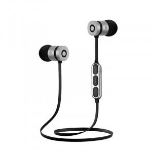 BT-W1 | Спортивные беспроводные наушники Bluetooth с микрофоном и пультом управления