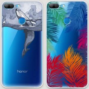 RosCase | Силиконовый чехол для Huawei Honor 9 Lite