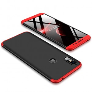 GKK LikGus 360° | Двухсторонний чехол для Xiaomi Redmi S2 с защитными вставками