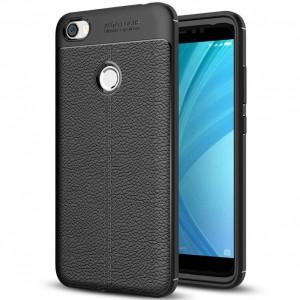 Фактурный силиконовый чехол с имитацией кожи  для Xiaomi Redmi Y1