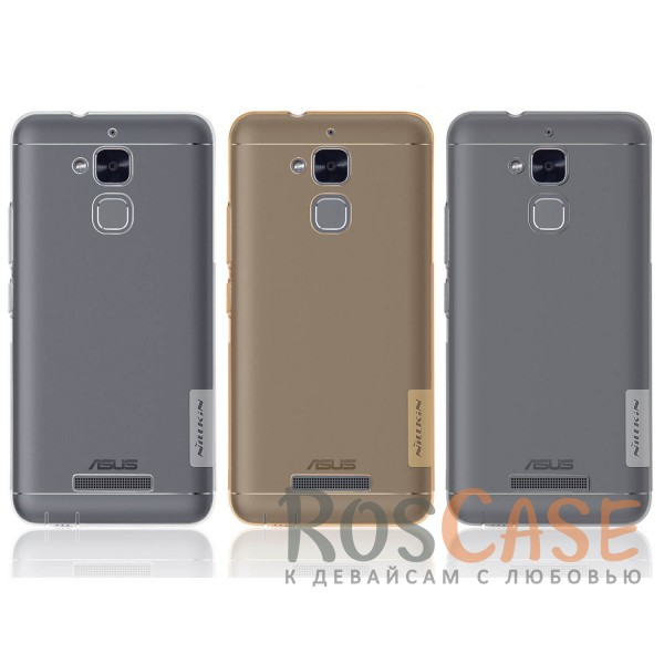 TPU чехол Nillkin Nature Series для Asus Zenfone 3 Max (ZC520TL)<br><br>Тип: Чехол<br>Бренд: Nillkin<br>Материал: TPU