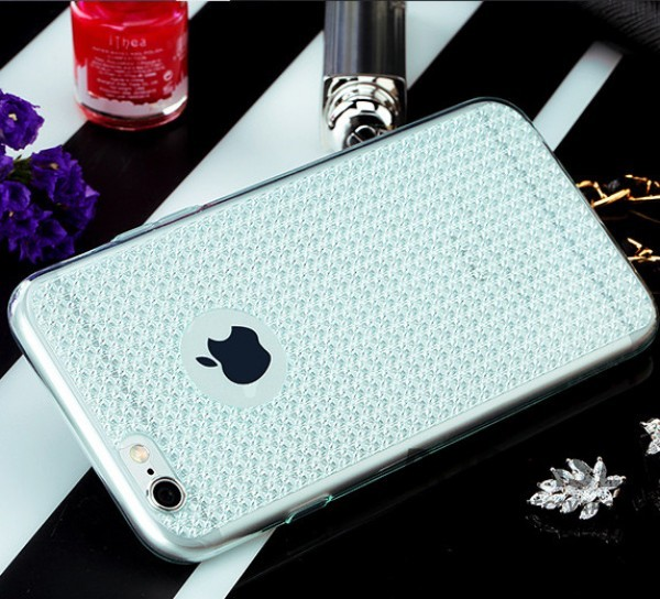фотография Голубой / Transparent blue TPU чехол Rock Fla Series для Apple iPhone 6/6s (4.7