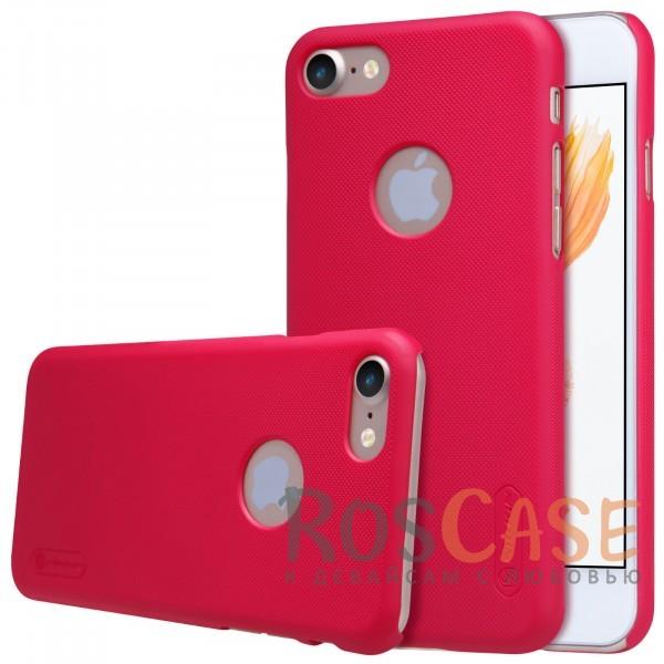 Чехол Nillkin Matte для Apple iPhone 7 (4.7) (+ пленка) (Красный)Описание:бренд&amp;nbsp;Nillkin;спроектирована для&amp;nbsp;Apple iPhone 7 (4.7);материал - поликарбонат;тип - накладка.Особенности:фактурная поверхность;защита от ударов и царапин;тонкий дизайн;наличие функциональных вырезов;пленка на экран в комплекте.<br><br>Тип: Чехол<br>Бренд: Nillkin<br>Материал: Поликарбонат