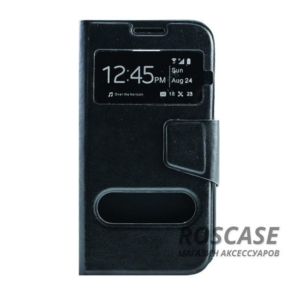Чехол (книжка) с TPU креплением для Samsung G900 Galaxy S5 (Черный)Описание:производитель - бренд&amp;nbsp;Epik;разработан для Samsung G900 Galaxy S5;материал: искусственная кожа;тип: чехол-книжка.&amp;nbsp;Особенности:имеются функциональные вырезы;магнитная застежка;защита от ударов и падений;окошко в обложке;ответ на вызов через обложку;не скользит в руках.<br><br>Тип: Чехол<br>Бренд: Epik<br>Материал: Искусственная кожа