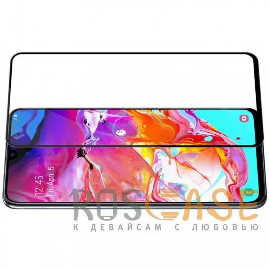Изображение Черный Защитное стекло Nillkin Anti-Explosion Glass Screen (CP+PRO) для Samsung Galaxy A70 (A705F)
