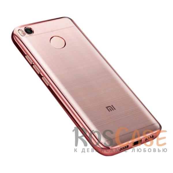 Прозрачный силиконовый чехол для Xiaomi Redmi 4X с глянцевой окантовкой (Розовый)Описание:совместим с Xiaomi Redmi 4X;глянцевая окантовка;материал - TPU;тип - накладка.<br><br>Тип: Чехол<br>Бренд: Epik<br>Материал: Силикон