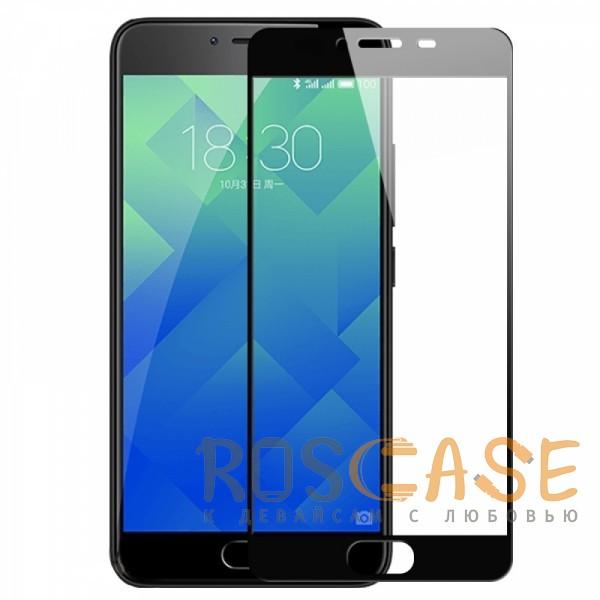 Фото Черный Artis 2.5D   Цветное защитное стекло на весь экран для Meizu U10 на весь экран