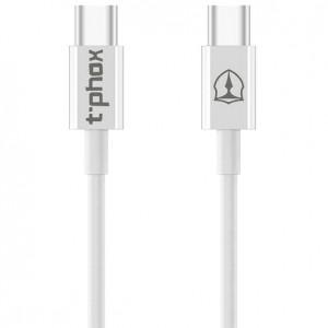 T-phox | Дата кабель USB to Type-C (3A) (100см) для Samsung Galaxy J7 2018 (J700)