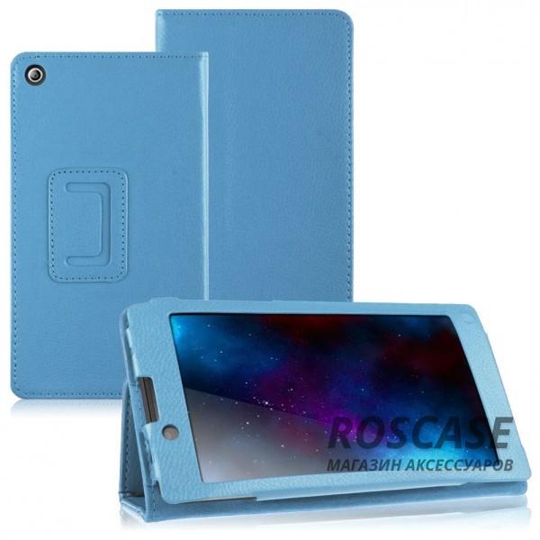 Кожаный чехол-книжка TTX с функцией подставки для Lenovo Tab 2 A7-30 (Голубой)Описание:производитель  - &amp;nbsp;TTX;совместимость - Lenovo Tab 2 A7-30;материалы  -  кожзам, микрофибра;форма  -  чехол-книжка.&amp;nbsp;Особенности:трансформируется в подставку;имеет все функциональные отверстия;легко устанавливается и снимается;тонкий и легкий;защищает от царапин и ударов;устойчив к низким температурам.<br><br>Тип: Чехол<br>Бренд: TTX<br>Материал: Искусственная кожа