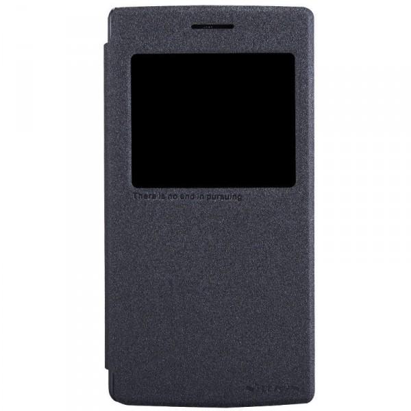 Кожаный чехол (книжка) Nillkin Sparkle Series для OnePlus One (Черный)Описание:Изготовлен компанией&amp;nbsp;Nillkin;Спроектирован персонально для OnePlus One;Материал: синтетическая высококачественная кожа и полиуретан;Форма: чехол в виде книжки.Особенности:Исключается появление царапин и возникновение потертостей;Восхитительная амортизация при любом ударе;Фактурная поверхность;Элегантное интерактивное окошко;Не подвержен деформации;Непритязателен в уходе.<br><br>Тип: Чехол<br>Бренд: Nillkin<br>Материал: Искусственная кожа