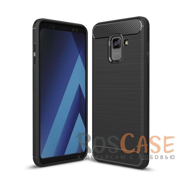 iPaky Slim   Силиконовый чехол для Samsung A530 Galaxy A8 (2018) (Черный)Описание:совместим с Samsung A530 Galaxy A8 (2018);материал: термополиуретан;тип: накладка;эластичный;свойство анти-отпечатки;защита углов от ударов;ультратонкий;защита боковых кнопок;надежная фиксация.<br><br>Тип: Чехол<br>Бренд: iPaky<br>Материал: Поликарбонат