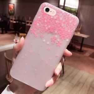 """Силиконовый матовый чехол с принтом для Apple iPhone 7 (4.7"""")"""