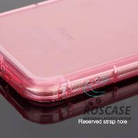 фото Розовый / Transparent pink TPU чехол ROCK Fence series для Apple iPhone 7 (4.7