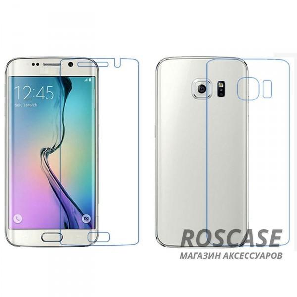 Защитная пленка Ultra Screen Protector (на обе стороны) для Samsung G925F Galaxy S6 Edge (Прозрачная)<br><br>Тип: Защитная пленка<br>Бренд: Epik
