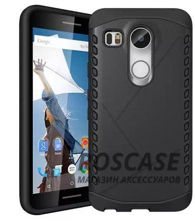 Противоударный защитный чехол Armor для LG Google Nexus 5x с усиленным прорезиненным бампером (Черный)Описание:совместимость: LG Google Nexus 5x;форм-фактор: накладка;материал: термополиуретан, поликарбонат.Преимущества:устойчив к повреждениям;не скользит в руках;эргономичный;легко очищается;защита боковых панелей;амортизация;надежная фиксация;стильный дизайн.<br><br>Тип: Чехол<br>Бренд: Epik<br>Материал: TPU