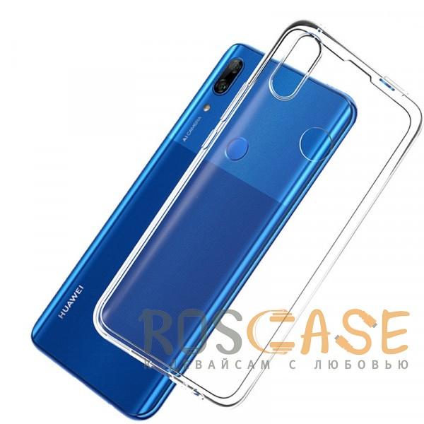 Фотография Бесцветный (прозрачный) Прозрачный силиконовый чехол Ultrathin Series 0,33mm для Huawei P Smart Z