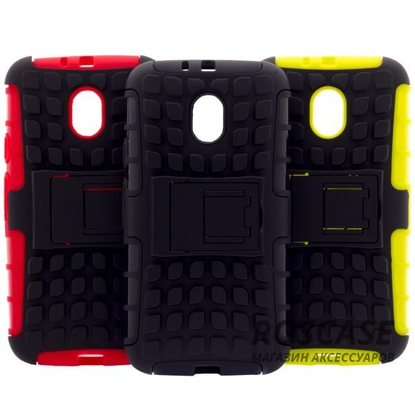 Противоударный двухслойный чехол Shield для Motorola Moto G (3rd Gen.) (XT1550) с подставкойОписание:разработан специально для Motorola Moto G (3rd Gen.) (XT1550);материалы: поликарбонат, термополиуретан;тип: накладка.&amp;nbsp;Особенности:двухслойный;ударопрочный;оригинальный дизайн;стильный дизайн;в наличии все функциональные вырезы;функция подставки.<br><br>Тип: Чехол<br>Бренд: Epik<br>Материал: TPU