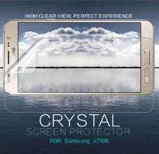 Nillkin Crystal | Прозрачная защитная пленка для Samsung J710F Galaxy J7 (2016)