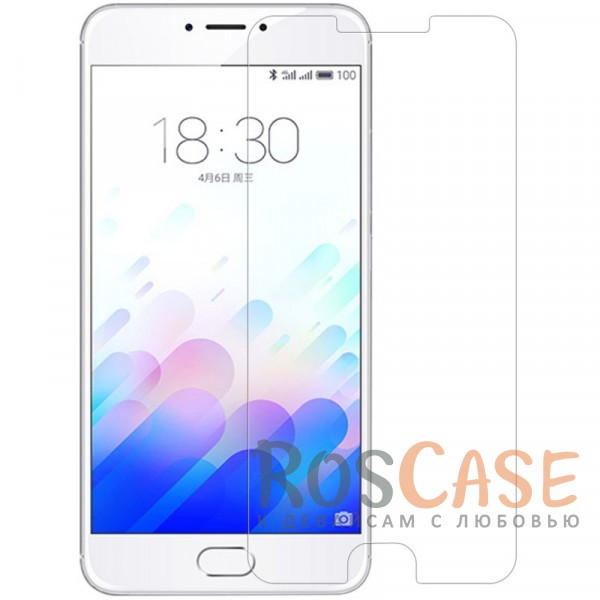 Фото Защитное стекло U-Glass 0.33mm (H+) для Meizu M3 Max (картонная упаковка)