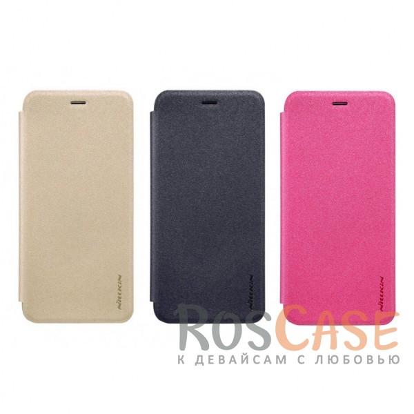 Кожаный чехол (книжка) Nillkin Sparkle Series для Xiaomi Mi 5cОписание:бренд&amp;nbsp;Nillkin;спроектирован для Xiaomi Mi 5c;материалы: поликарбонат, искусственная кожа;блестящая поверхность;не скользит в руках;предусмотрены все необходимые вырезы;защита со всех сторон;функция Sleep mode;тип: чехол-книжка.&amp;nbsp;<br><br>Тип: Чехол<br>Бренд: Nillkin<br>Материал: Искусственная кожа