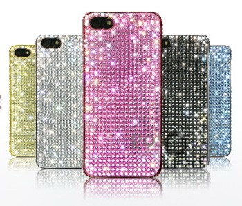 Накладка Dreamplus Eileen Lovely 2 (Swarovski Cut Crystals) для Apple iPhone 5 (+ пленка)