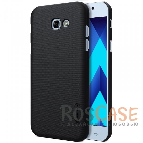 Nillkin Super Frosted Shield | Матовый чехол для Samsung A720 Galaxy A7 (2017) (+ пленка) (Черный)Описание:бренд&amp;nbsp;Nillkin;совместим с Samsung A720 Galaxy A7 (2017);материалы: поликарбонат;тип: накладка.<br><br>Тип: Чехол<br>Бренд: Nillkin<br>Материал: Поликарбонат