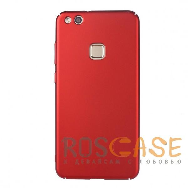 Фото Красный J-Case THIN | Пластиковый чехол для Huawei P10 Lite с гладким покрытием