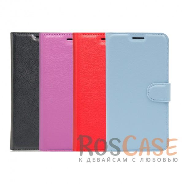 Гладкий кожаный чехол-бумажник на магнитной застежке Wallet с функцией подставки и внутренними карманами для Meizu M5Описание:производитель  - &amp;nbsp;Epik;совместим с Meizu M5;материалы  -  искусственная кожа, TPU;форма  -  чехол-книжка.&amp;nbsp;Особенности:фактурная поверхность;предусмотрены все функциональные вырезы;кармашки для визиток/кредитных карт/купюр;магнитная застежка;защита от механических повреждений;трансформируется в подставку.<br><br>Тип: Чехол<br>Бренд: Epik<br>Материал: Искусственная кожа