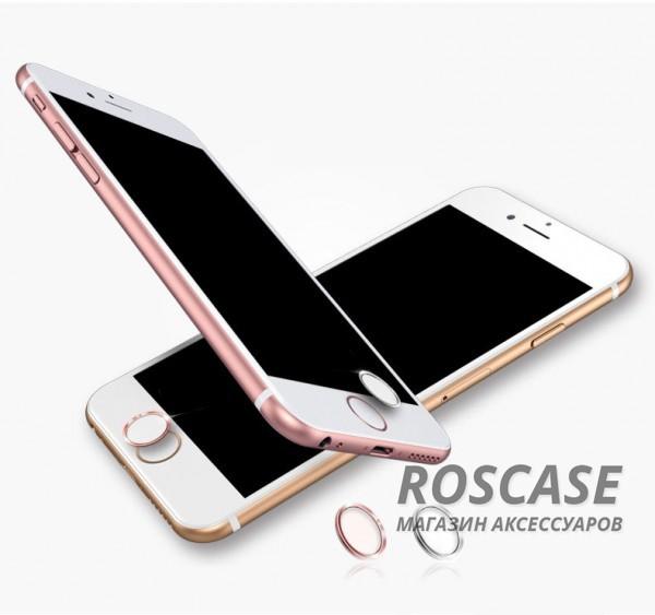 Наклейка на кнопку Rock Touch ID Button для Apple iPhone 5S/SE/6/6S/6+/6S+Описание:производитель  - &amp;nbsp;Rock;разработана для Apple iPhone 5S/SE/6/6S/6+/6S+;материалы  -  чувствительный наноматериал, металлическое кольцо;тип  -  наклейка на кнопку.&amp;nbsp;Особенности:защита кнопки;улучшение удобства использования кнопки после установки стекла;чувствительность кнопки сохраняется;цветная окантовка.<br><br>Тип: Общие аксессуары<br>Бренд: ROCK