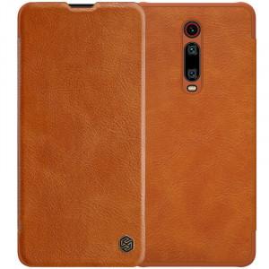 Nillkin Qin натур. кожа   Чехол-книжка для Xiaomi Redmi K20 / K20 Pro / Mi9T / Mi9T Pro