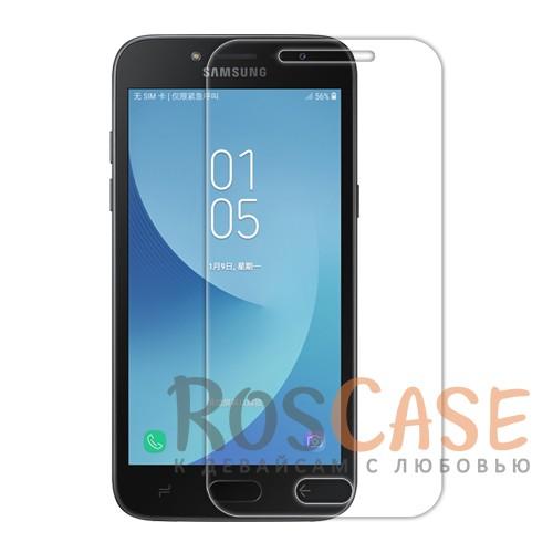 Прозрачная глянцевая защитная пленка на экран с гладким пылеотталкивающим покрытием для Samsung Galaxy J2 Pro (2018)Описание:совместимость - Samsung Galaxy J2 Pro (2018);материал: полимер;тип: прозрачная пленка;ультратонкая;защита от царапин и потертостей;фильтрует УФ-излучение;размер пленки - 139,5*68,2 мм.<br><br>Тип: Защитная пленка<br>Бренд: Nillkin