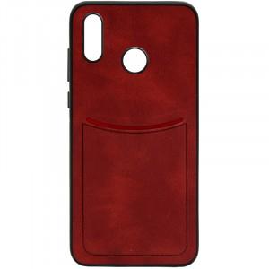ILEVEL | Чехол с кожаным покрытием и с карманом-визитницей для Huawei Nova 3
