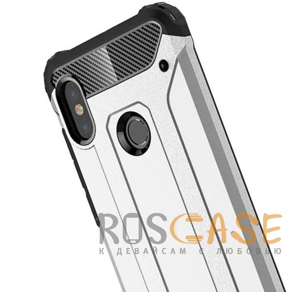 Фото Серебряный Immortal | Противоударный чехол для Xiaomi Redmi Note 6 Pro