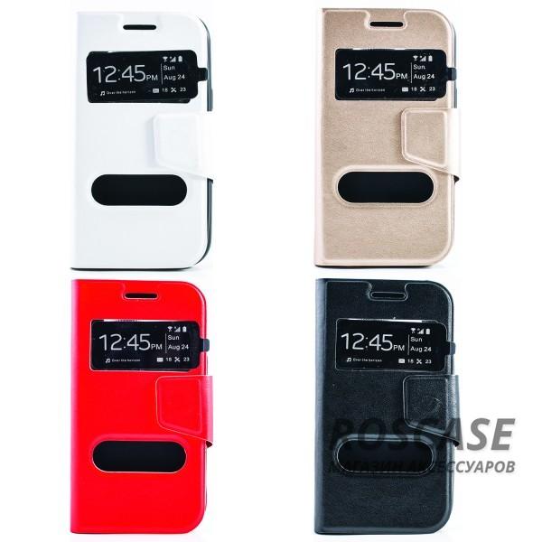 Чехол (книжка) с TPU креплением для Samsung Galaxy J1 Duos SM-J100Описание:производитель - бренд&amp;nbsp;Epik;создан для Samsung Galaxy J1 Duos SM-J100;материал: синтетическая кожа;тип: чехол-книжка.&amp;nbsp;Особенности:имеются функциональные вырезы;магнитная застежка;защита от ударов и падений;окошки в обложке;ответ на вызов через окошко в обложке;не скользит в руках.<br><br>Тип: Чехол<br>Бренд: Epik<br>Материал: Искусственная кожа