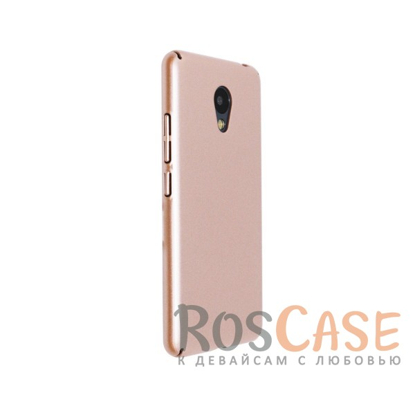 Изображение Розовый Joyroom | Матовый soft-touch чехол для Meizu M3 / M3 mini / M3s с защитой торцов