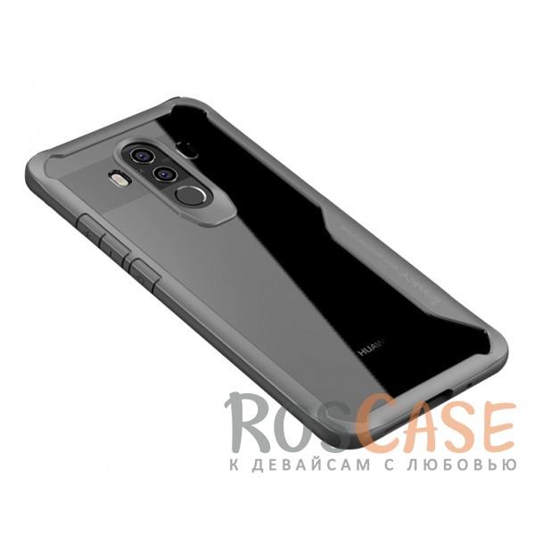 Фотография Серый iPaky Luckcool | Чехол для Huawei Mate 10 pro с цветными силиконовыми вставками