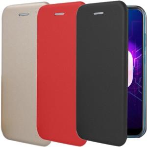 Open Color | Чехол-книжка для OnePlus 6 с функцией подставки и магнитом