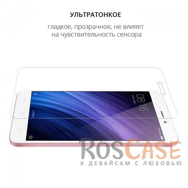 Фото Прозрачное защитное стекло с олеофобным покрытием для Xiaomi Redmi 4a
