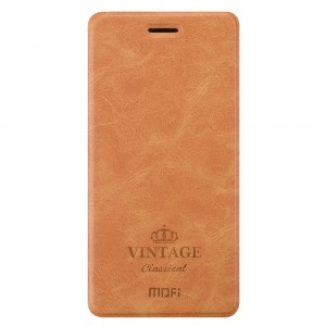 MOFI Vintage | Кожаный чехол-книжка с карманом для OnePlus 5