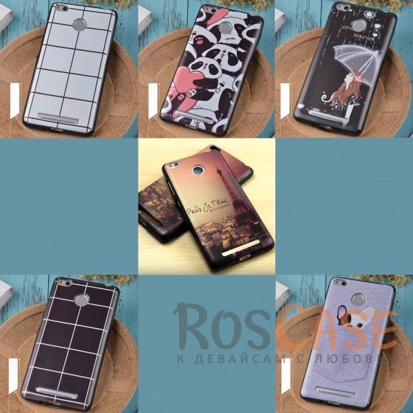 TPU чехол Sweet Art для Xiaomi Redmi 3 Pro / Redmi 3s<br><br>Тип: Чехол<br>Бренд: Epik<br>Материал: TPU